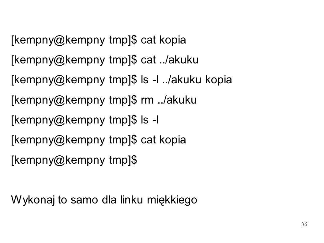 [kempny@kempny tmp]$ cat kopia